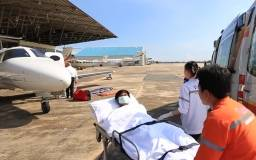 Air Ambulance travel risks for Patients