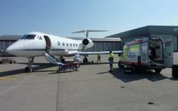 AIR AMBULANCE TRANSFERS - PRE-HOSPITAL BLOOD PRODUCT TRANSFUSION BY U.S. ARMY FLIGHT MEDICS